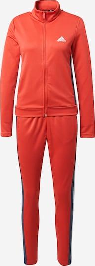 Costum de trening ADIDAS PERFORMANCE pe albastru / roșu deschis / alb, Vizualizare produs