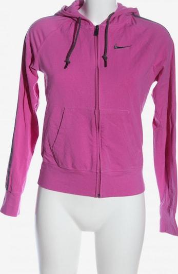 NIKE Sweatjacke in S in pink, Produktansicht