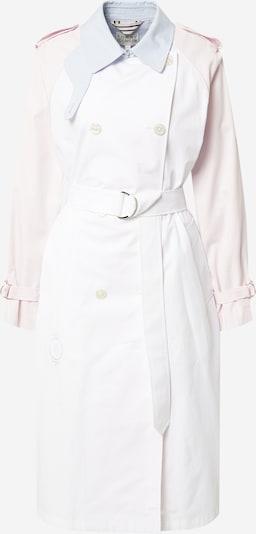 TOMMY HILFIGER Manteau mi-saison en rose / rose clair / blanc, Vue avec produit