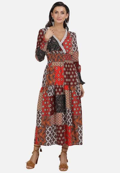 usha FESTIVAL Jurk in de kleur Gemengde kleuren: Vooraanzicht