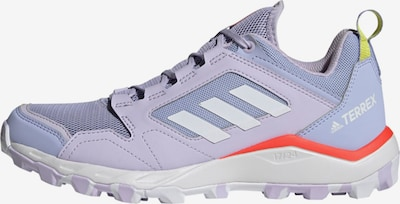 adidas Terrex Running Shoes 'Agravic' in Light purple / Orange / White, Item view