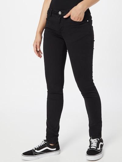 Jeans GUESS pe negru denim, Vizualizare model