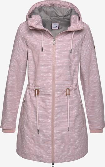 KangaROOS Jacke in rosa / weiß, Produktansicht