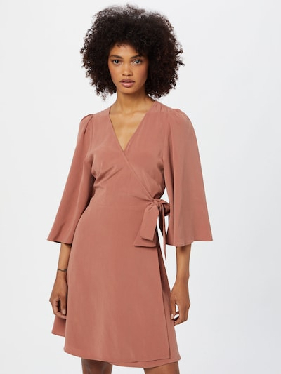 mbym Kleid 'Melika' in hellbraun, Modelansicht