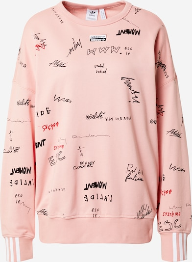 ADIDAS ORIGINALS Sweatshirt in mixed colours / light pink, Item view