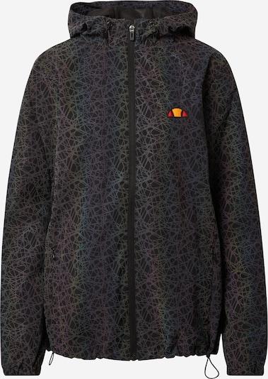 ELLESSE Jacke in schwarz / silber, Produktansicht