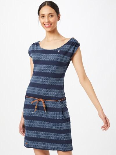 Ragwear Robe 'CHEGO' en bleu marine / bleu clair, Vue avec modèle