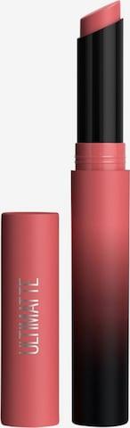 MAYBELLINE New York Lipstick 'Color Sensational Ultimatte' in Pink