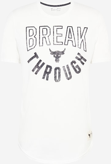 Tricou funcțional 'ROCK BREAK THROUGH' UNDER ARMOUR pe alb, Vizualizare produs