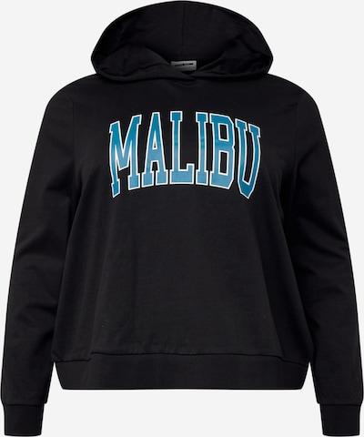 Noisy May Curve Sweatshirt 'FAME' in blau / schwarz, Produktansicht
