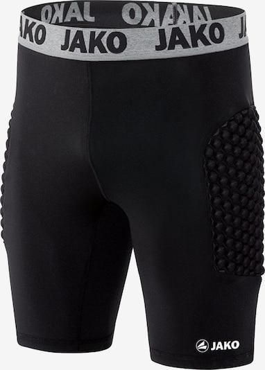 JAKO Unterwäsche in grau / schwarz: Frontalansicht