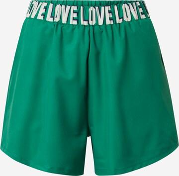 DELICATELOVE Spordipüksid 'MASHA', värv roheline