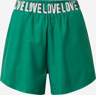 DELICATELOVE Sporthose 'MASHA' in grün / weiß, Produktansicht