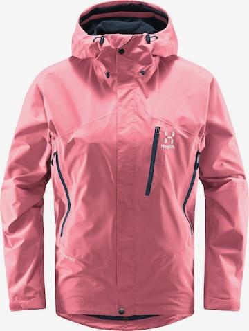 Haglöfs Outdoorjacke 'Astral GTX' in Pink