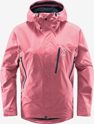 Haglöfs Outdoorjas 'Astral GTX' in de kleur Navy / Pink / Wit, Productweergave