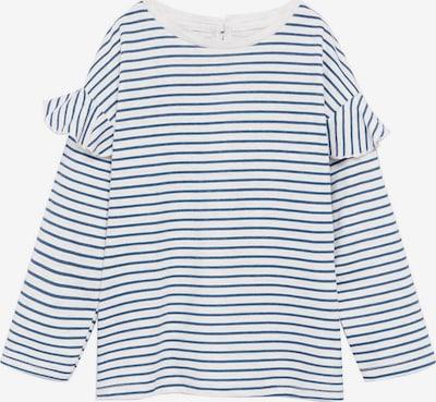 MANGO KIDS Tričko 'OLIVIA' - modrá / biela, Produkt
