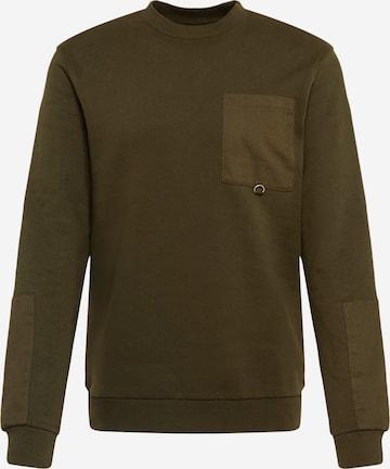 Only & Sons Sweatshirt 'LINUS LIFE' in Grün