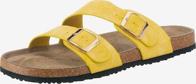 ambellis Pantoletten in gelb, Produktansicht
