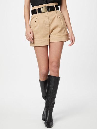 PATRIZIA PEPE Shorts in hellbeige, Modelansicht