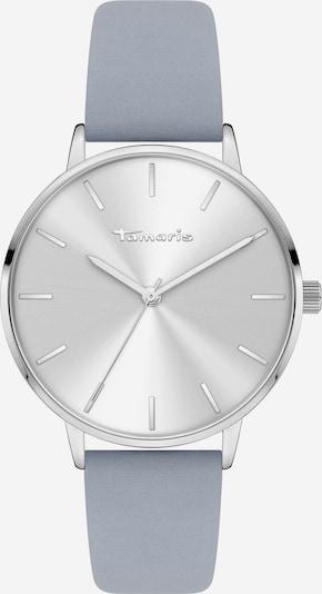 TAMARIS Uhr in taubenblau / silber, Produktansicht