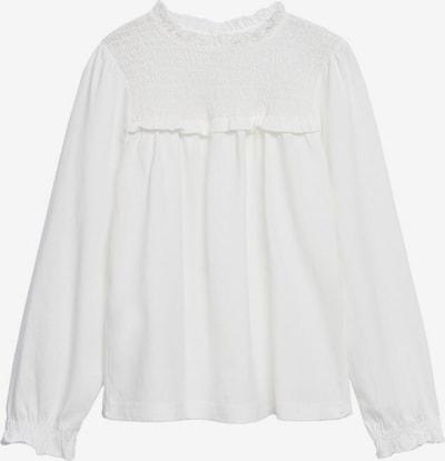 MANGO KIDS Shirt in mottled white, Item view