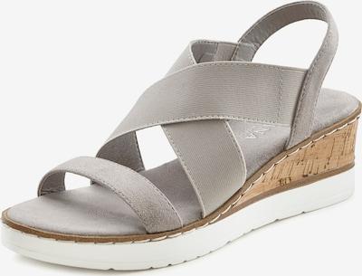 LASCANA Sandalette in grau, Produktansicht