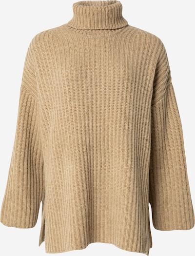 Samsoe Samsoe Jersey talla grande 'KEIKO' en marrón claro, Vista del producto