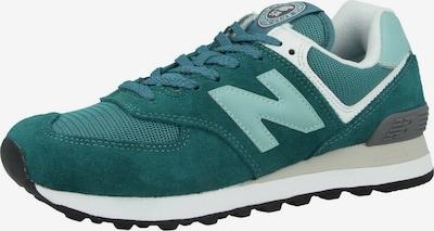 new balance Sneaker '574' in pastellblau / dunkelgrau / mint / weiß, Produktansicht