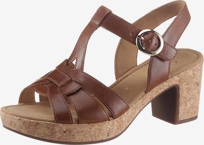GABOR Sandale in dunkelbraun, Produktansicht