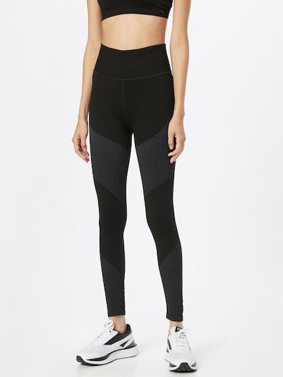 PUMA Leggings in anthrazit / schwarz, Modelansicht
