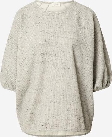 AMERICAN VINTAGE Sweatshirt 'Zupy' in Grey