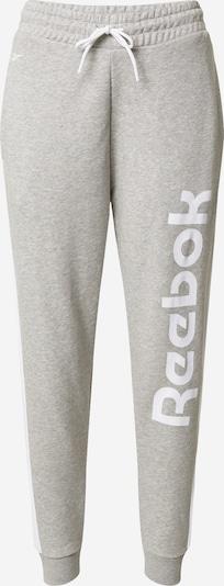Reebok Classic Sporthose in grau / weiß, Produktansicht