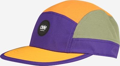 CIELE ATHLETICS Athletic Cap 'GO' in Blue / Olive / Orange, Item view