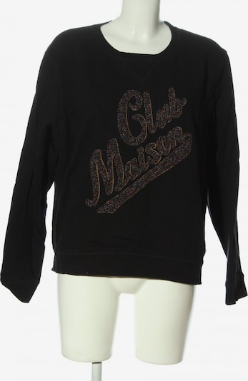 SCOTCH & SODA Sweatshirt in L in bronze / schwarz, Produktansicht