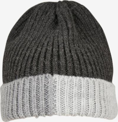 Urban Classics Mütze in basaltgrau / hellgrau / weiß, Produktansicht