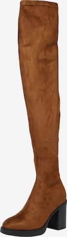 ruda ONLY Ilgaauliai batai virš kelių