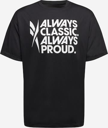 Reebok Sport Funktsionaalne särk 'Pride', värv must