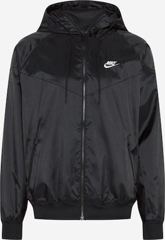 Nike Sportswear Спортно яке в черно