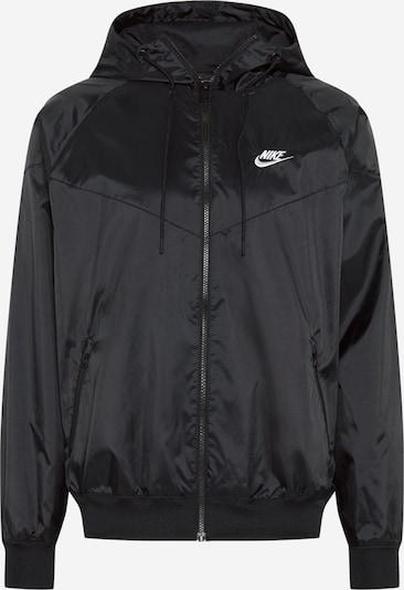 Nike Sportswear Přechodná bunda - černá / bílá, Produkt