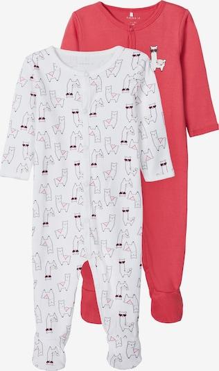 NAME IT Pidžama set u miks boja / roza / bijela, Pregled proizvoda