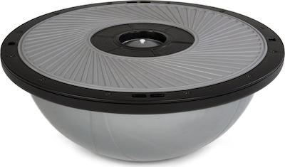 YOGISTAR.COM Balance-Dome in anthrazit / hellgrau, Produktansicht