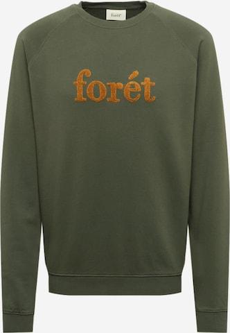 Sweat-shirt 'SPRUCE' forét en vert