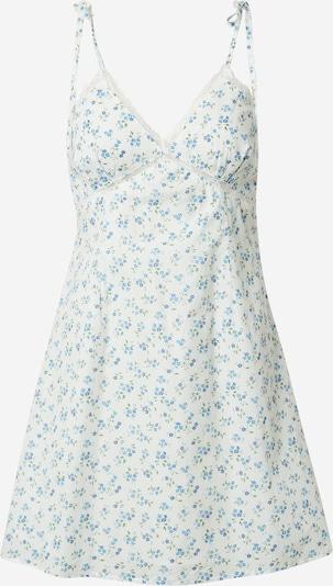 Fashion Union Kleid 'GENEVA' in mischfarben / weiß, Produktansicht