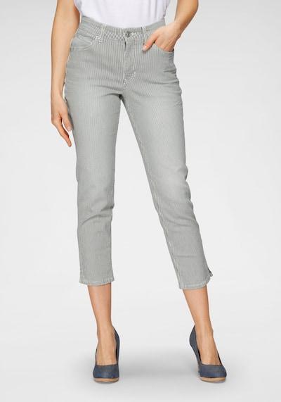 MAC Hose in grau / weiß, Modelansicht