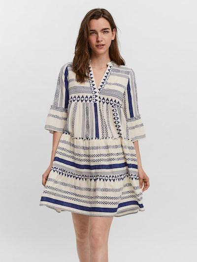 VERO MODA Tunika 'Dicthe' in blau / weiß, Modelansicht
