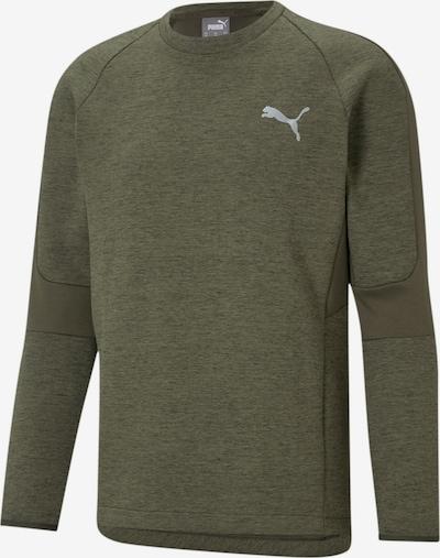 PUMA Sportsweatshirt in de kleur Kaki, Productweergave