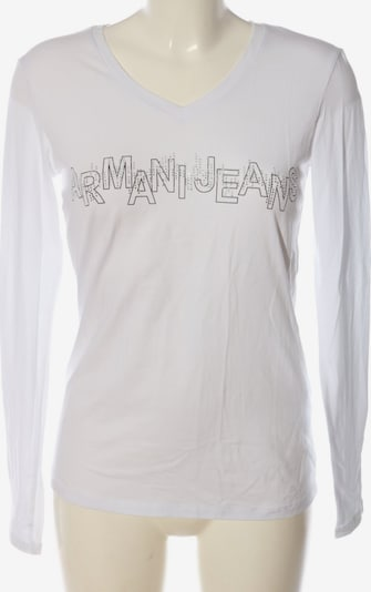 Armani Jeans Longsleeve in XXL in schwarz / weiß, Produktansicht