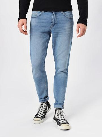 Jeans 'WARP' de la Only & Sons pe albastru