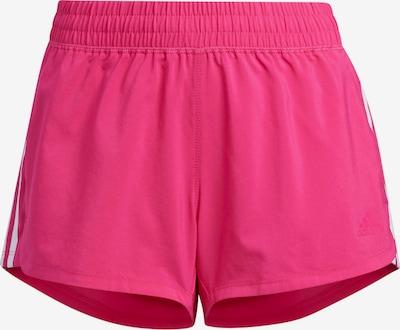 ADIDAS PERFORMANCE Pantalón deportivo en fucsia / blanco, Vista del producto