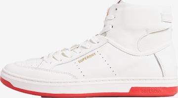 Superdry Sportschuh 'Lux Premium' in Weiß